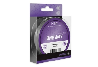 FIN ONE WAY / sivá