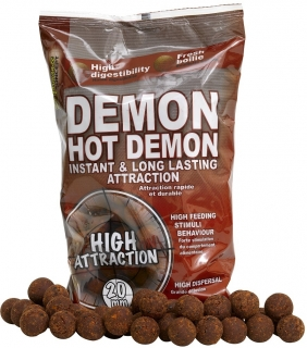 Boilies Hot Demon 20mm 1kg