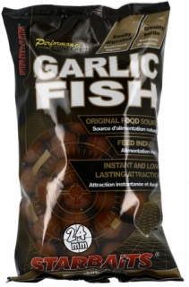 Boilies Garlic Fish 24mm 1kg