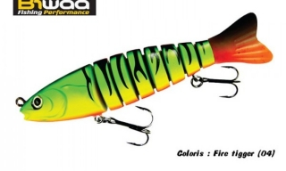 S´TROUT 135mm 29g Fire Tiger